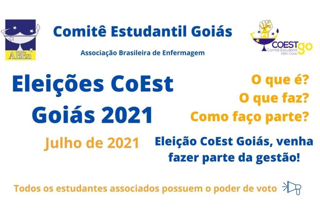 Eleições CoEst GO 2021